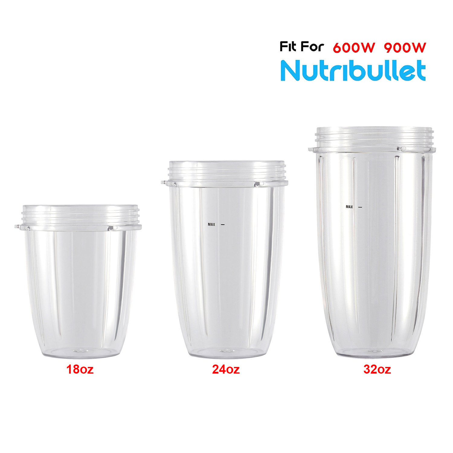 Blender Replacement Parts for Nutribullet Blender 18oz Cups /& Replacement Extractor Blade Replacement Parts Compatible with Nutribullet 600W//900W Models