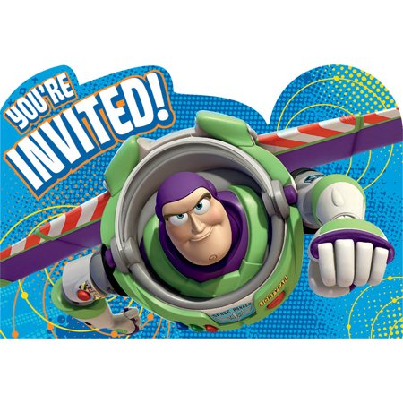 Disney Pixar Toy Story Birthday Boy Party Invitation 16 Count Save the Date