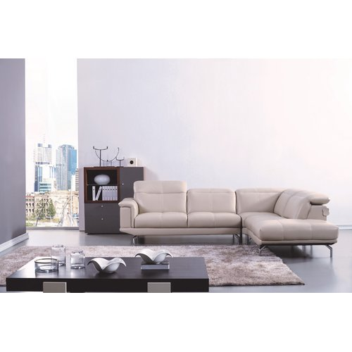 Orren Ellis Zahara Thick Sectional