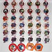 Disney Infinity 2.0 Marvel Power Discs Complete Set of 40