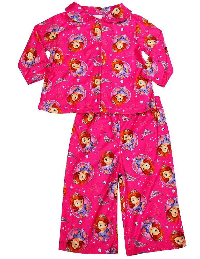 Disney Princess - Baby Girls Long Sleeve Pajamas Pink Sofia / 24 Months