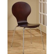 A Line Furniture Classic Cappuccino Dining Chairs (Set of 4)