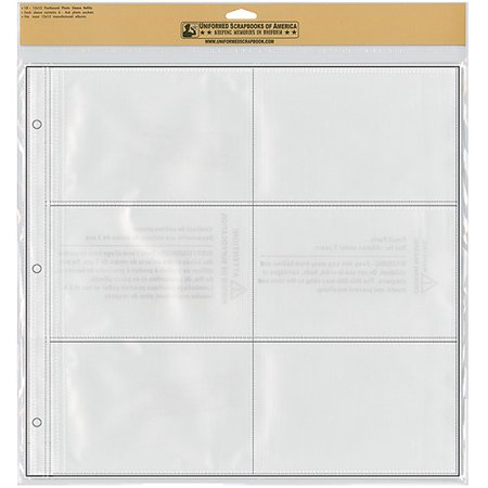 Uniformed Scrapbooks Photo Album Refill Sheets Walmartcom