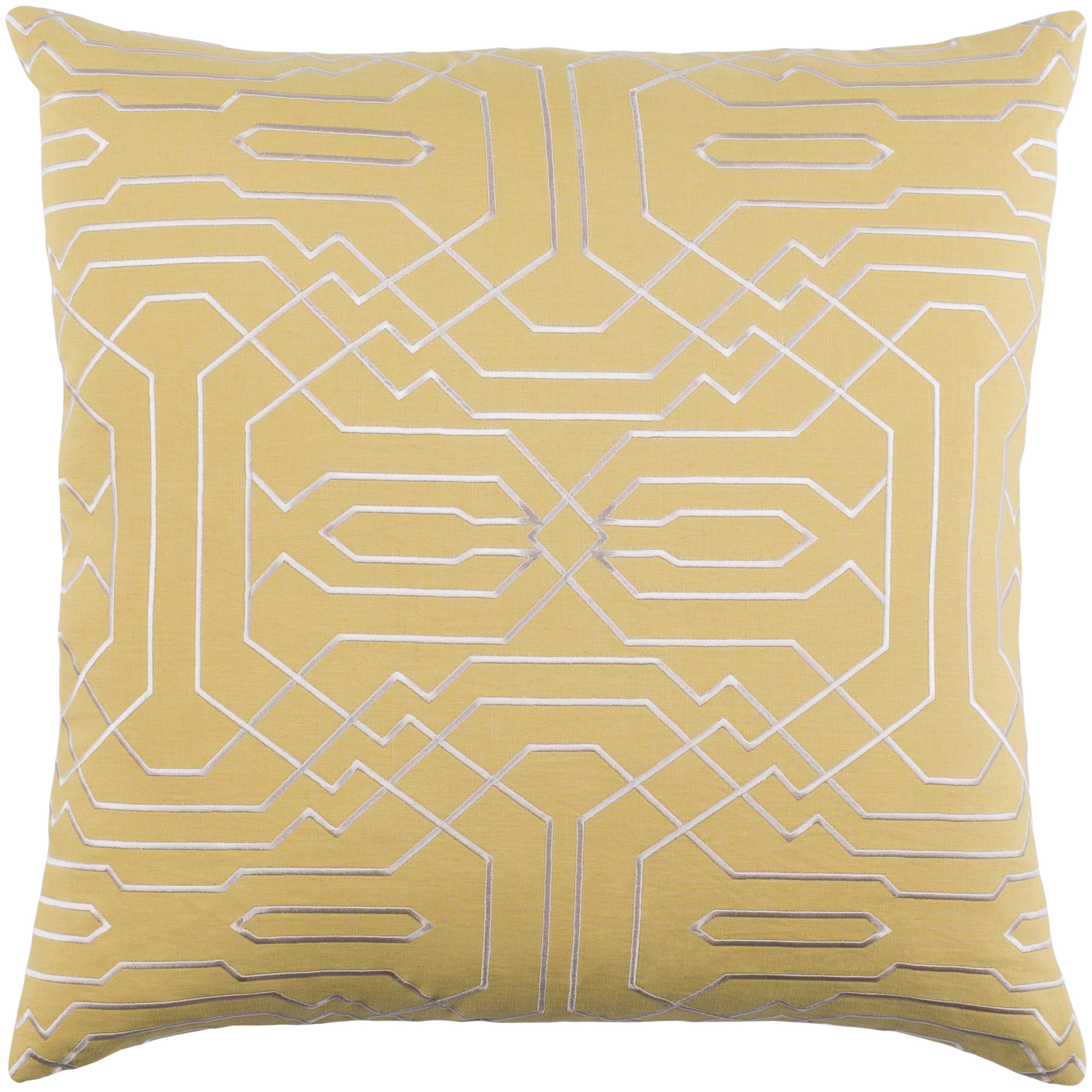 """Art of Knot Hermance 18"""" x 18"""" Pillow Cover"""
