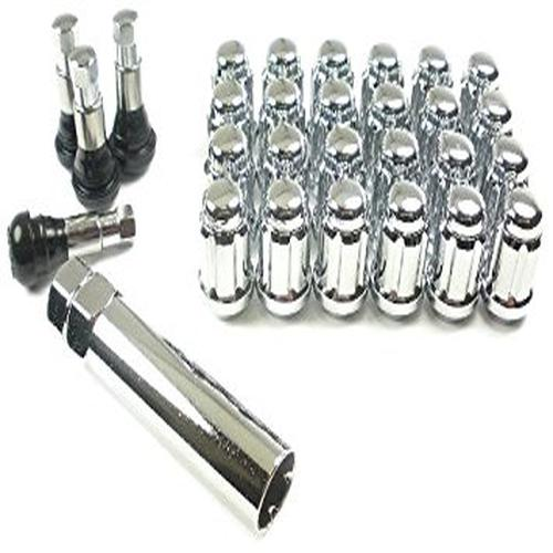 "West Coast Accessories W56012S 1/2"" Spline Closed End Wheel Lug Nut Installation"
