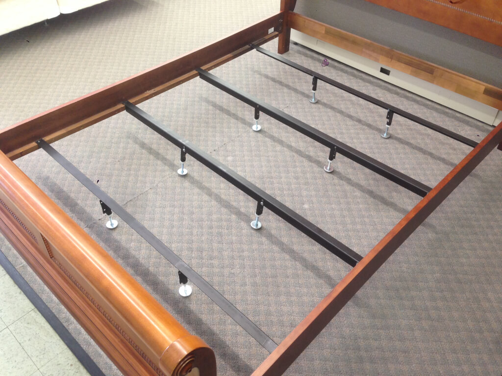 Adjustable Height Center Support Leg for Bed Frame
