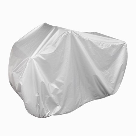 XXXL 190T Outdoor UV Protection Snow Motorcycle Cover Rain Dust Silver (Best Motorcycle For Snow)