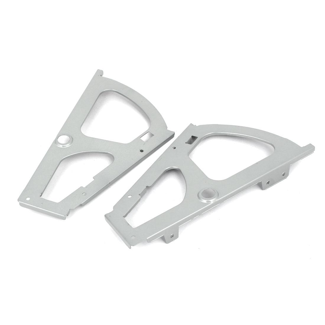 Armoire penderie étagère Métal chaussure Support connecteur paire gris - image 3 de 5