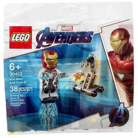 Marvel Avengers Iron Man & Dum-E Mini Set LEGO 30452