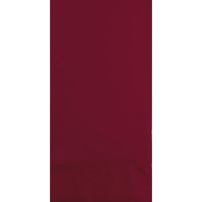 Creative Converting Burgundy Guest Towel, 3 Ply, 16 ct