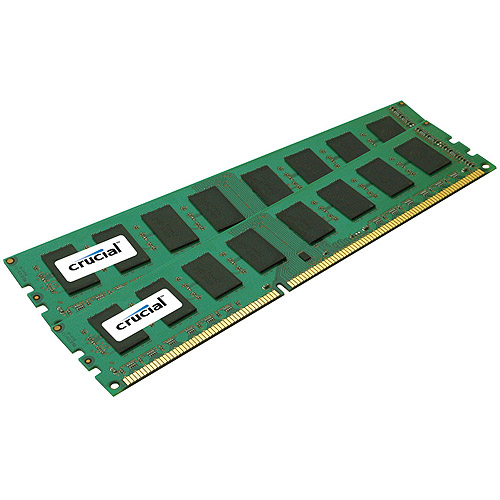 Crucial 32GB Kit (16GBx2) DDR3 PC3-14900 Registered ECC 2048Meg x 72