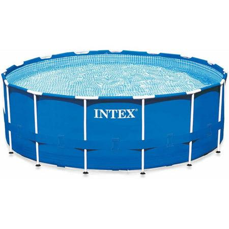 Intex 15 39 X 42 Metal Frame Swimming Pool
