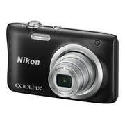 Nikon Coolpix A100 - Digital camera - compact - 20.1 MP - 720p / 30 fps - 5x optical zoom - black - Best Reviews Guide