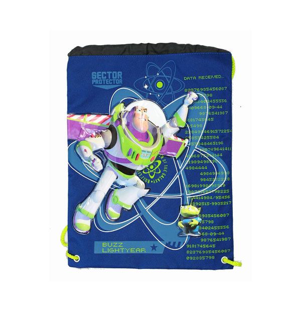 String Backpack - Disney - Toy Story - Buzz Light Year - Cinch Bag New 29395