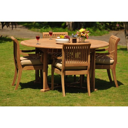 (Teak Dining Set: 4 Seater 5 Pc: 72