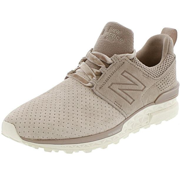 New Balance - New Balance Ws574 Leather Fashion Sneaker - 10M ...