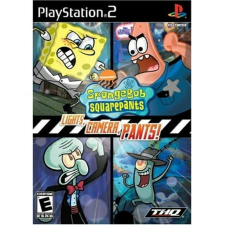 spongebob squarepants: lights, camera, pants - playstation 2 ()
