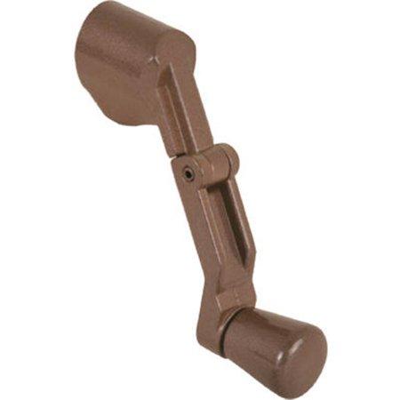 - Slide Co 173542 Folding Casement Handle, Bronze, Adaptor For Multiple Spline Diameters