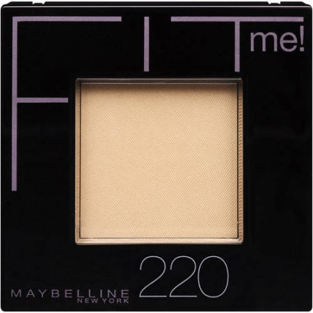 Maybelline New York Fit Me! Powder, 220 Natural Beige, 0.3 Oz