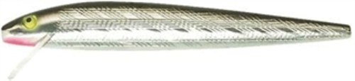 "J20S Rebel 4.5"" Jointed Minnow 3 8 oz Silver Black Fishing Lure by Rebel"