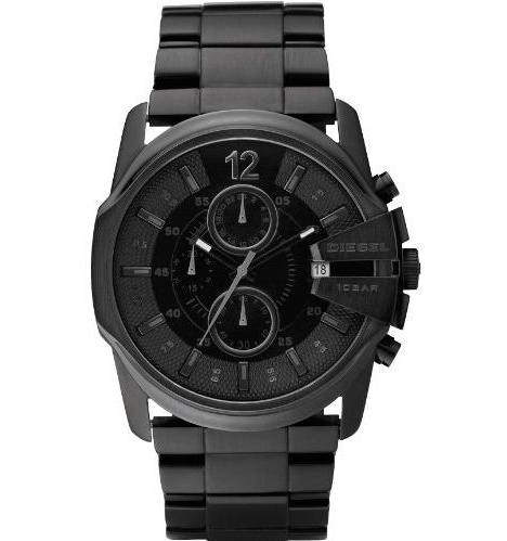 Men's Diesel Blackout Steel Chronograph Watch DZ4180