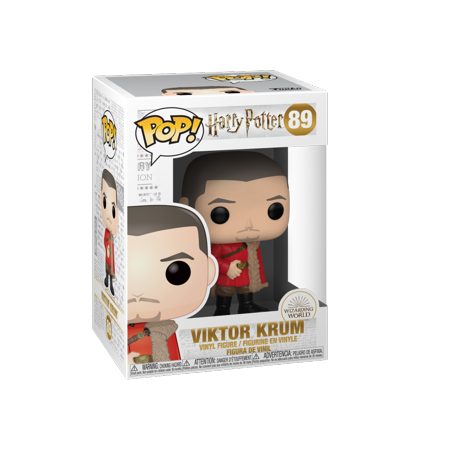 Funko POP! Harry Potter: Harry Potter S7 - Viktor Krum (Yule)