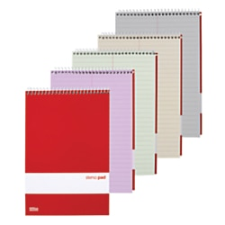"""Office Depot® Brand Assorted Steno Notebooks, Pastel, 6"""" x 9"""", 80 Sheets, Pack Of 4"""