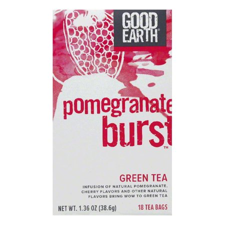 - Good Earth Pomegranate Burst Green Tea 18 ct  (Pack of 6)