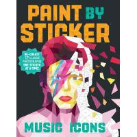 Paint by Sticker: Music Icons - Paperback