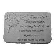 Kay Berry 07515 A Heart Of Gold Memorial Stone, Birds Nest