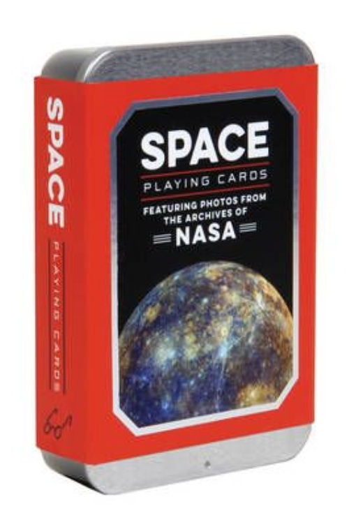 Space Playing Cards: Featuring Photos from the Archives of NASA by Chronicle Books