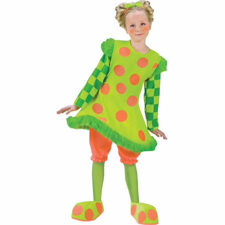 Lolli the Clown Child Girl Halloween - Clown Halloween Girl