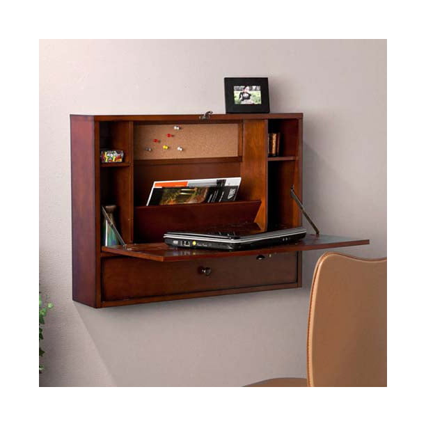 Southern Enterprises Wall-Mount Laptop Desk