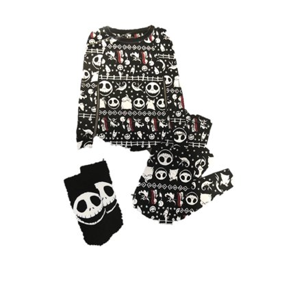 nightmare before christmas womens and womens plus pajama gift set