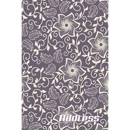 Address. : Address Book. - Contacts - (Vol. A50) Glossy Cover, Large Print, Font, 6 X 9 for Contacts, Addresses, Phone Numbers, Emails, Birthday and (Getting An Email Address With Your Domain Name)