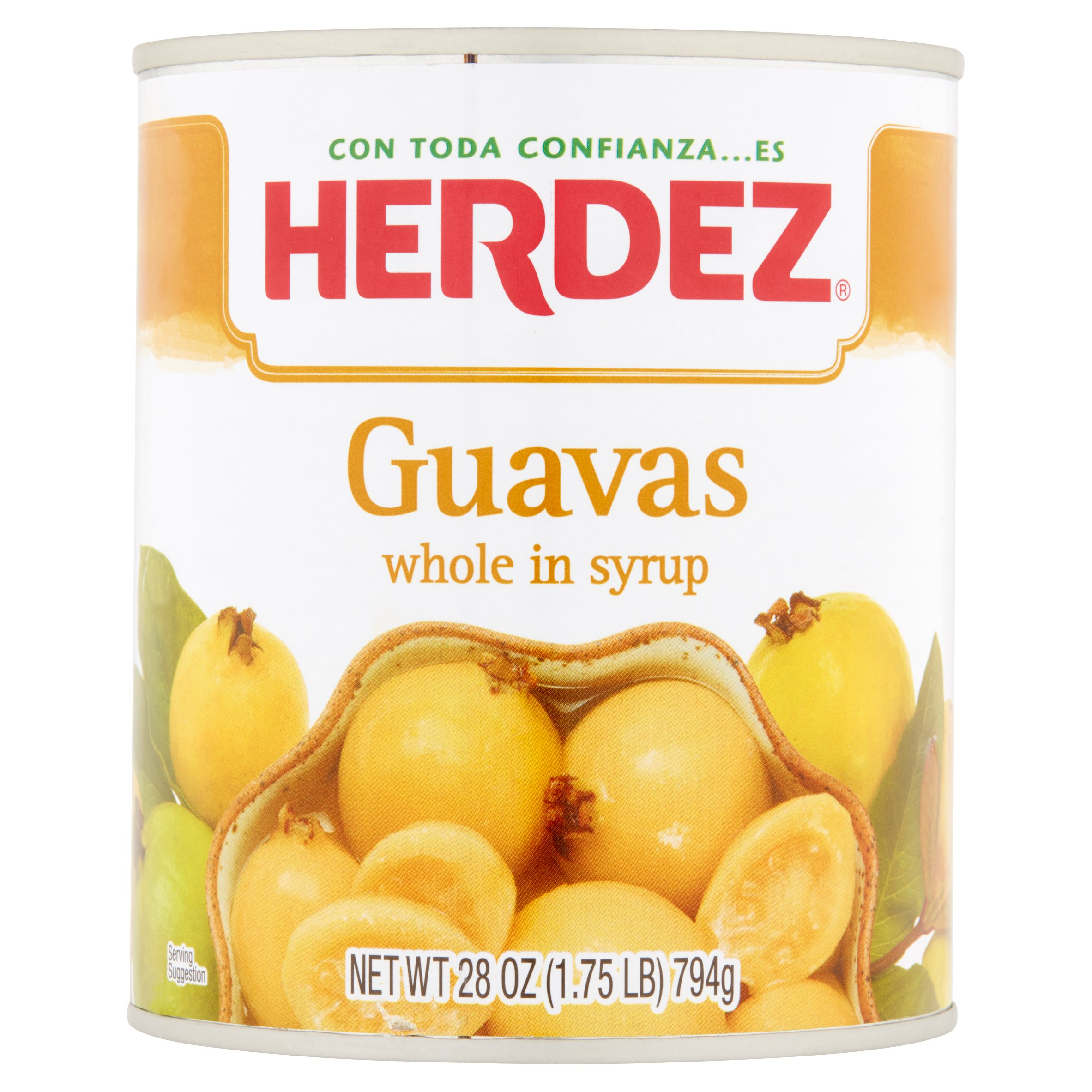 Herdez Guavas Whole in Syrup, 28 oz