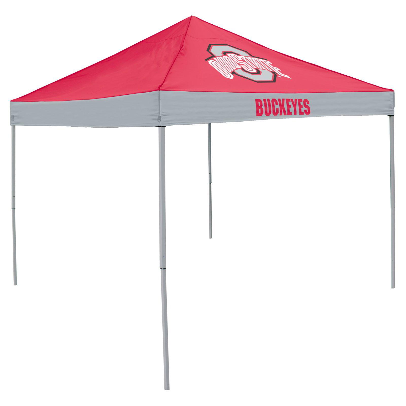 Logo Chairs NCAA Ohio State 9' x 9' Economy Tent, Sleeps 4