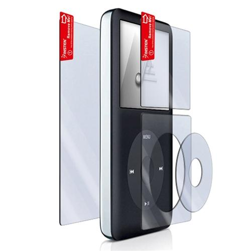 Insten 4-Piece Kit Screen Protector For Apple iPod classic 120GB / 160GB / 80GB