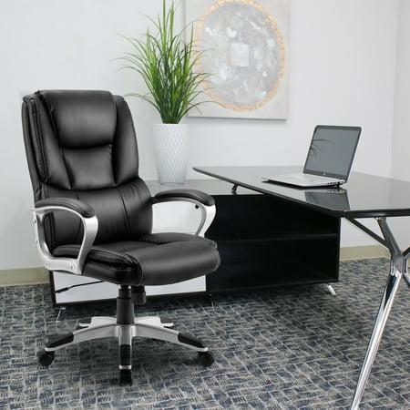 Merax Ergonomic Pu Leather High Back Executive Office Chair Big