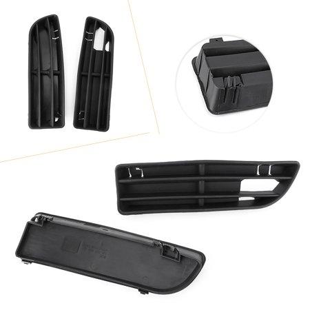 GZYF ABS Black Lower Side Vent Insert Grille Fit For 99-05 VW Jetta/Bora MK4