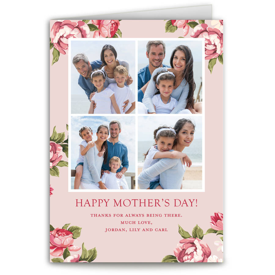 Bright Bouquet Mother's Day Greeting Card