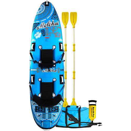 Rave Sport Molokai 2-Person Kayak, Blue
