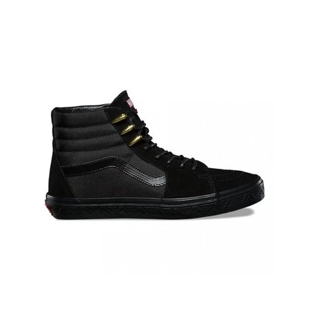 Mens Vans x Marvel SK8-Hi Black Panther Black Gold Red VN0A38GEUBH](Panther Vans)