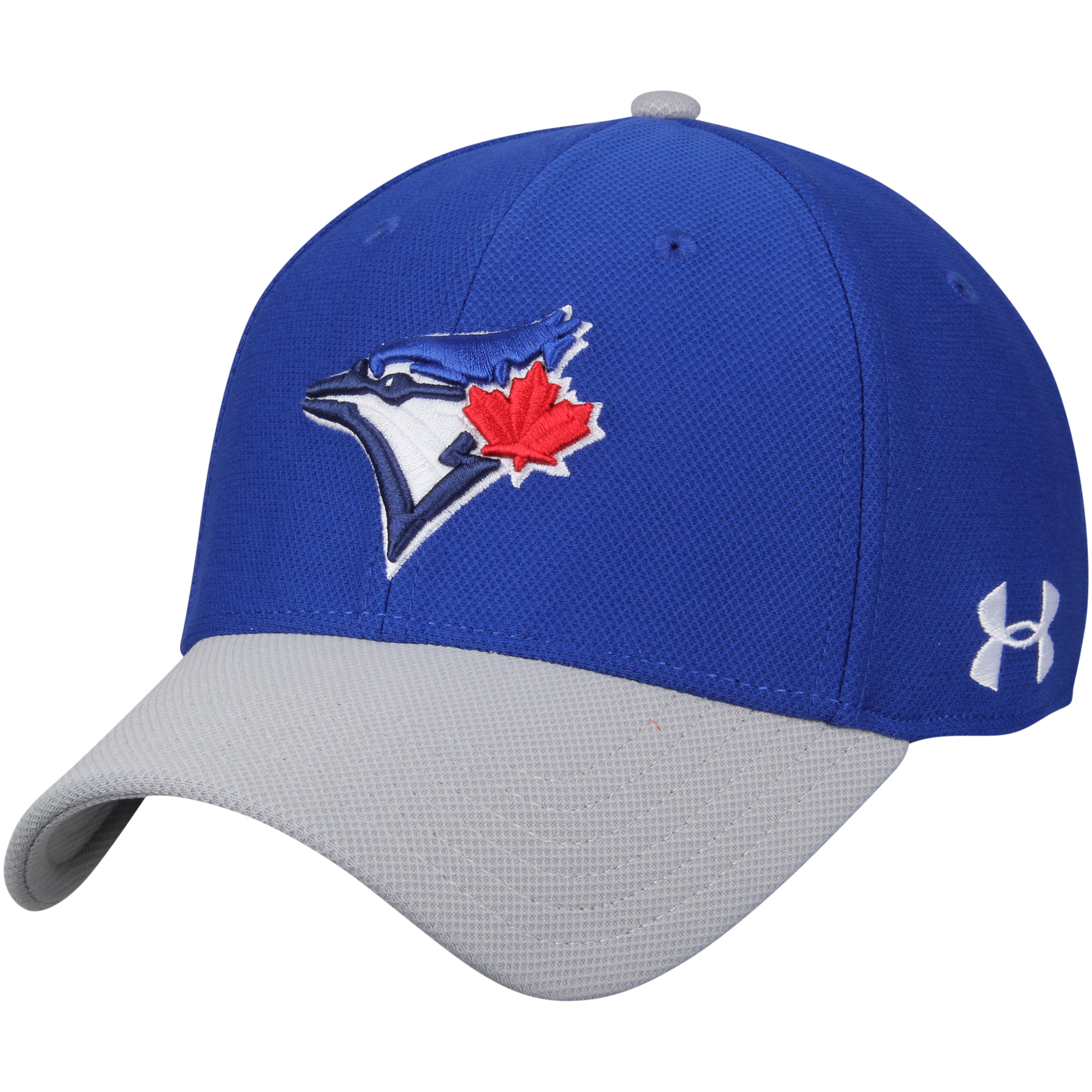 Toronto Blue Jays Under Armour Blitzing Performance Adjustable Hat - Royal/Gray - OSFA