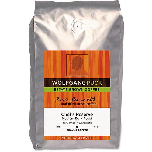 Wolfgang Puck Chef's Reserve Medium Dark Roast Coffee, 2 lbs