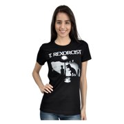 Goodie Two Sleeves T. Rexorcist Exorcist Parody T-Shirt (Juniors)