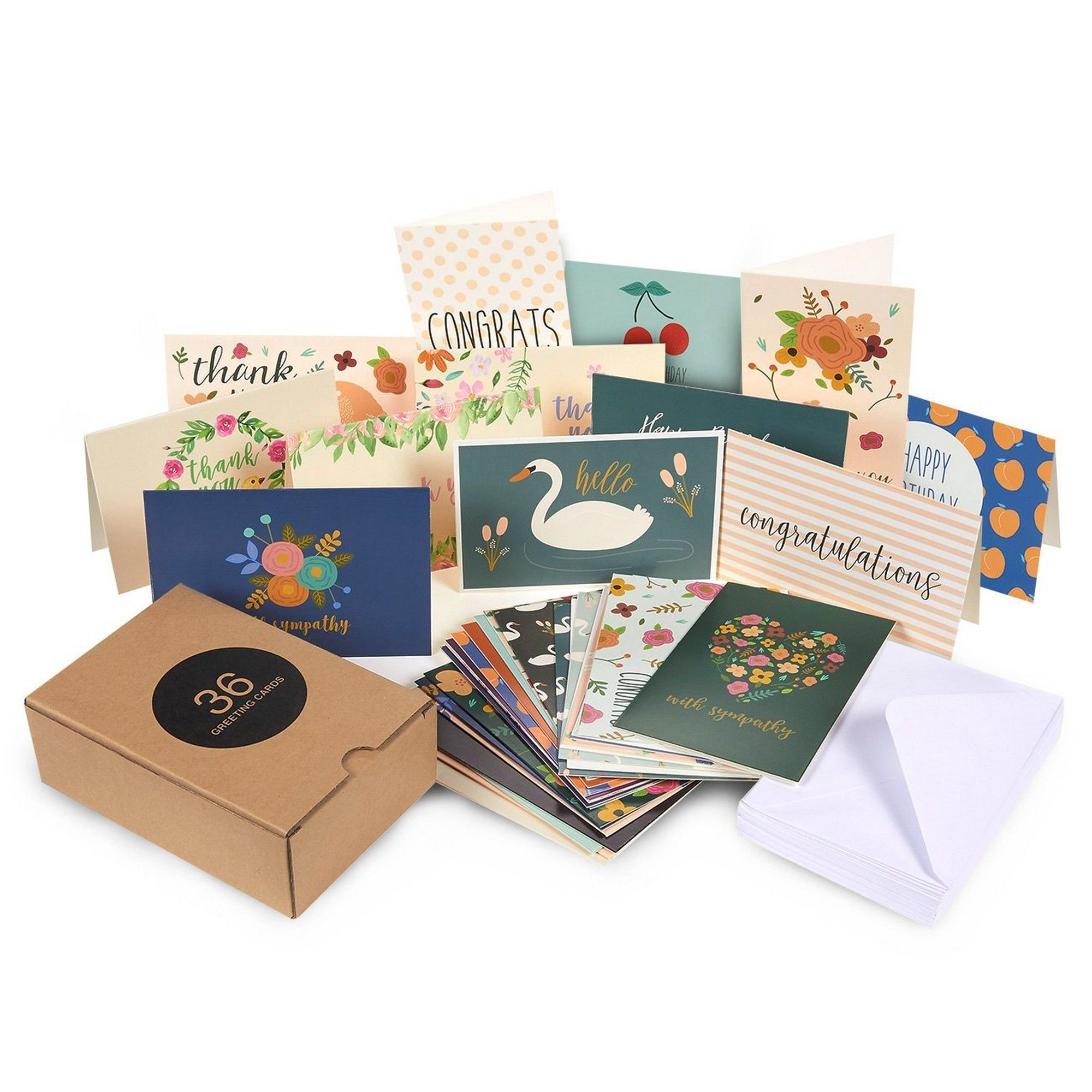 36count assorted greeting cards all occasion assortment