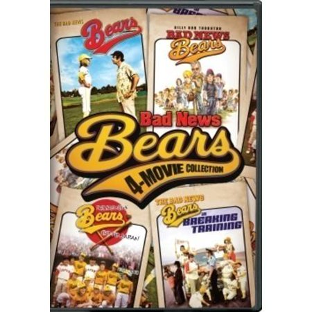 Bad News Bears 4 Movie Collection
