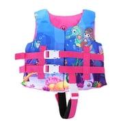 Faithtur Kids Swimming Life Vest, Cartoon Animals Print Flotage Life Jacket