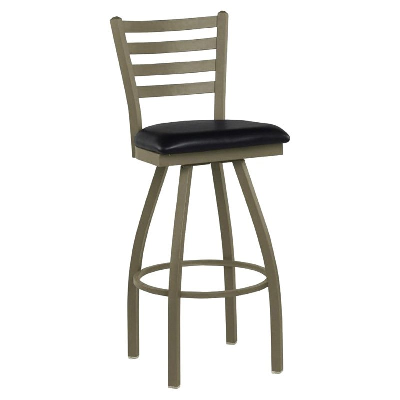 Regal Delano 30 in. Swivel Counter Stool with Vinyl Seat